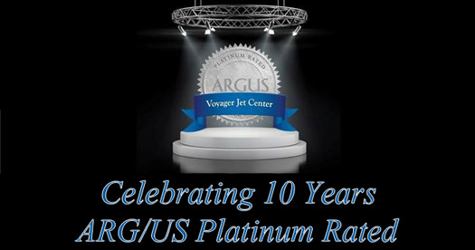 Celebrating 10 years ARG/US Platinum Rated
